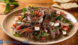 """Beef """"Salpicon"""" (Shredded Beef Salad)"""