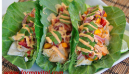 Fish Tacos without Tortilla