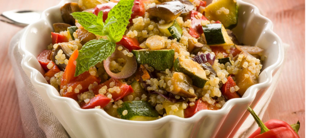 Quinoa and Vegetables Stew