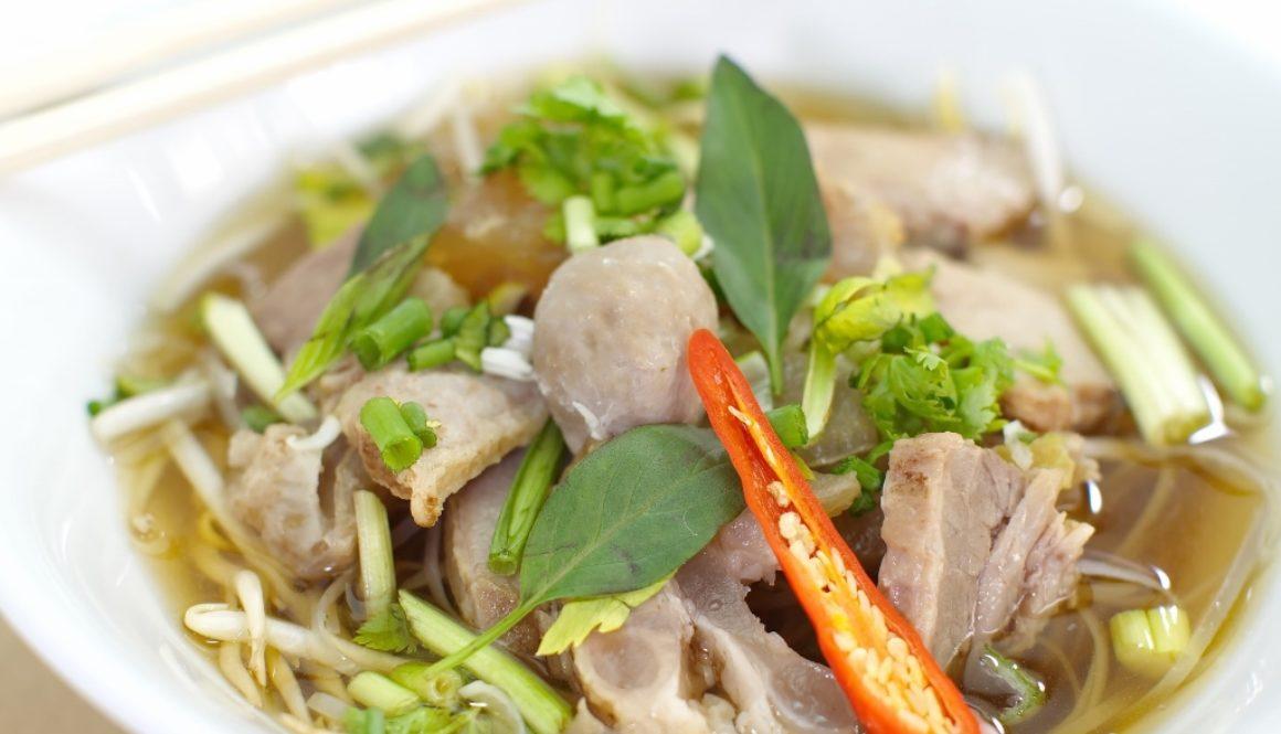Vietnamese beef soup
